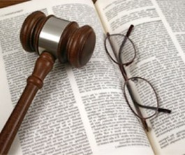 Book, Gavel, Glasses